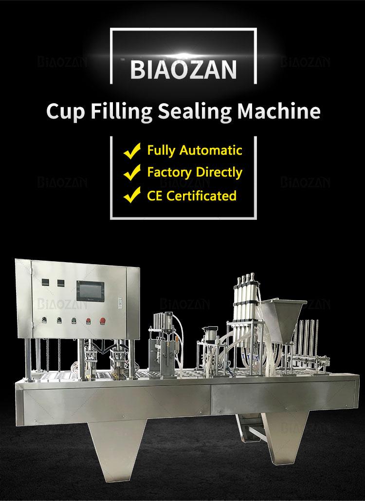 Cup Filling Sealing Machine