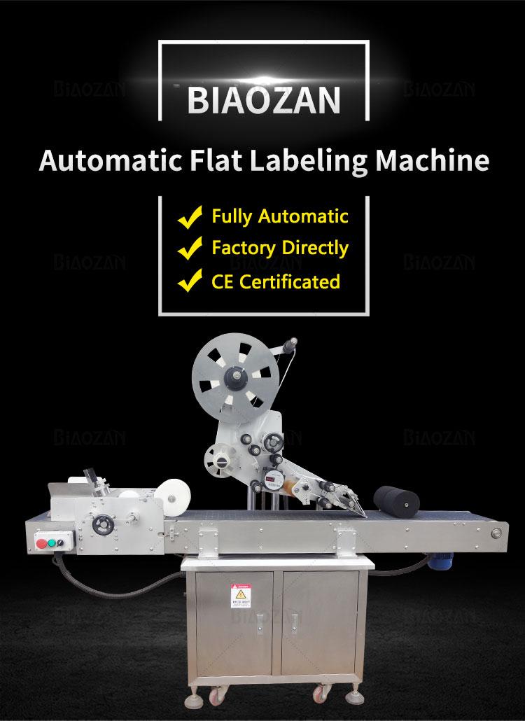 Flat Labeling Machine